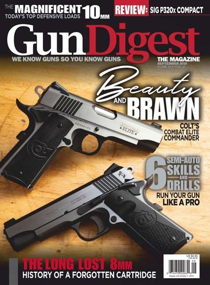 Gun Digest Cover - 9/1/2019
