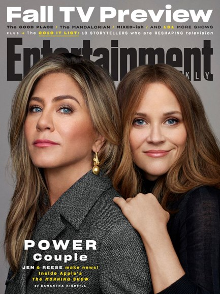 Entertainment Weekly Cover - 10/1/2019