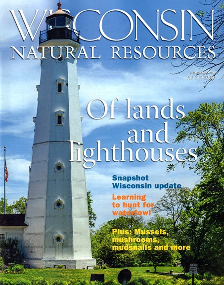 Wisconsin Natural Resources Cover - 9/1/2019