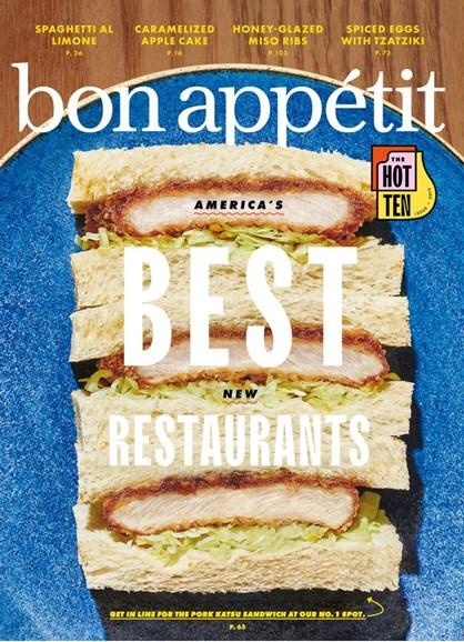 Bon Appétit Cover - 10/1/2019