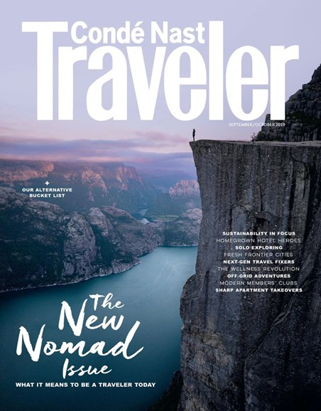 Condé Nast Traveler Cover - 9/1/2019