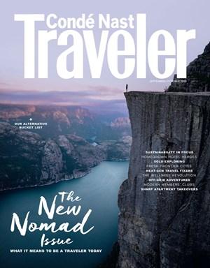 Conde Nast Traveler   9/2019 Cover