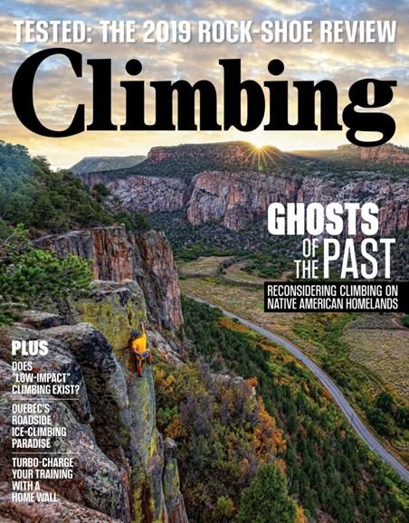 Climbing Magazine Cover - 10/1/2019