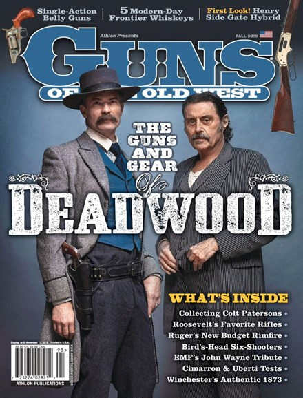 Guns Of The Old West Cover - 9/1/2019
