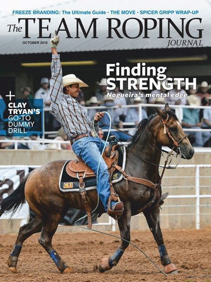 The Team Roping Journal Cover - 10/1/2019