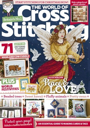 The World of Cross Stitching Magazine | 11/2019 Cover