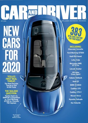 Car And Driver Magazine | 10/2019 Cover