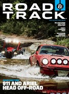 Road and Track Magazine 10/1/2019