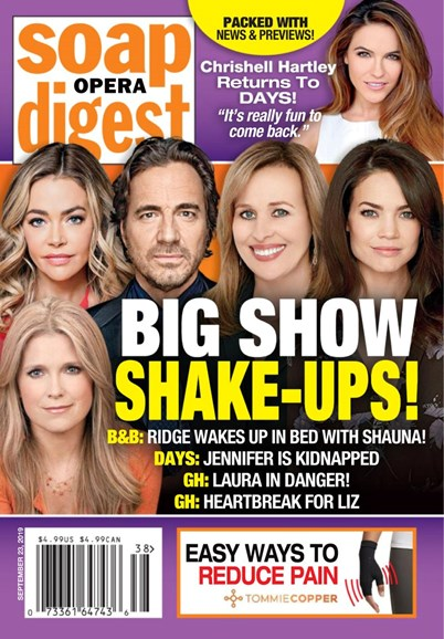 Soap Opera Digest Cover - 9/23/2019