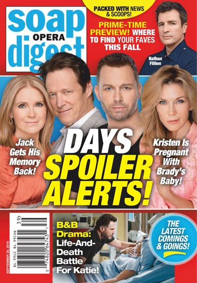 Soap Opera Digest Cover - 9/30/2019