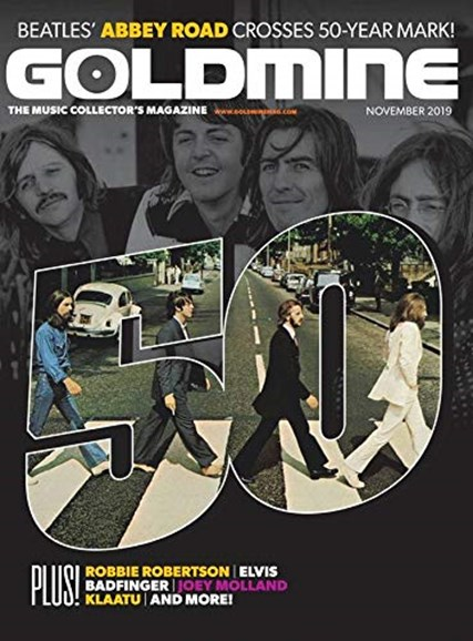 Goldmine Cover - 11/1/2019