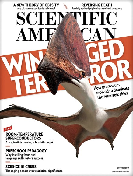 Scientific American Cover - 10/1/2019