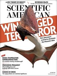 Scientific American Magazine | 10/2019 Cover