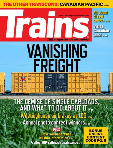 Trains Cover - 11/1/2019