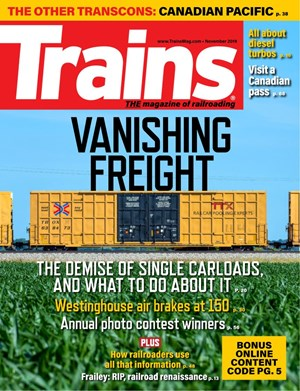 Trains Magazine | 11/2019 Cover