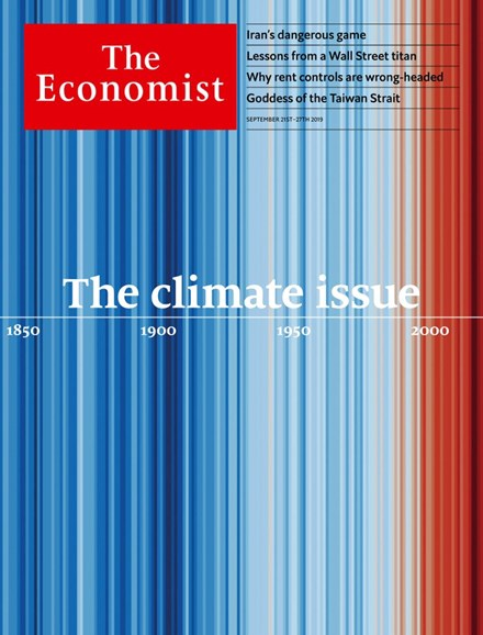 The Economist Cover - 9/21/2019