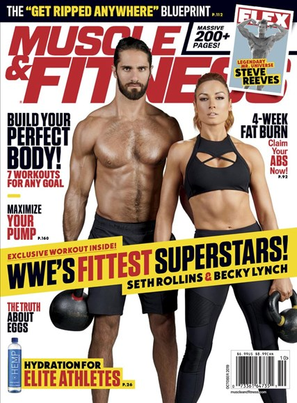Muscle & Fitness Cover - 10/1/2019