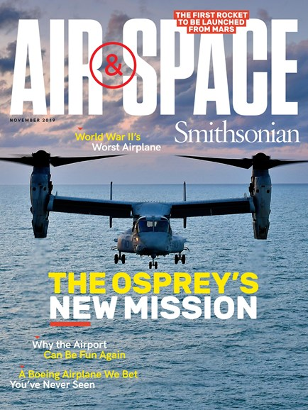 Air & Space Cover - 11/1/2019