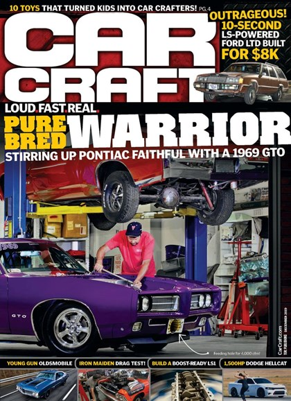 Car Craft Cover - 12/1/2019