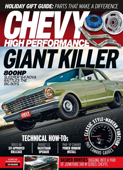 Chevy High Performance Cover - 12/1/2019