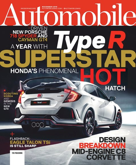 Automobile Cover - 11/1/2019
