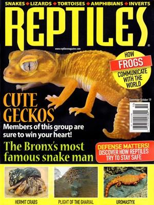 Reptiles | 9/2019 Cover