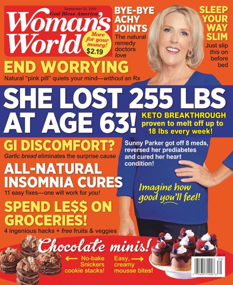 Woman's World Cover - 9/30/2019