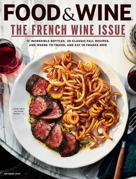 Food & Wine Cover - 10/1/2019
