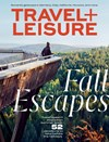 Travel and Leisure Magazine   10/1/2019 Cover