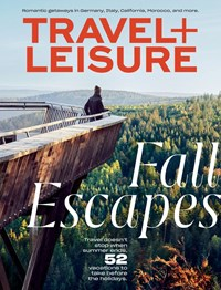 Travel and Leisure Magazine | 10/1/2019 Cover