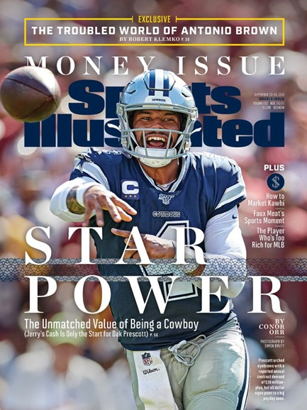 Sports Illustrated Cover - 9/23/2019