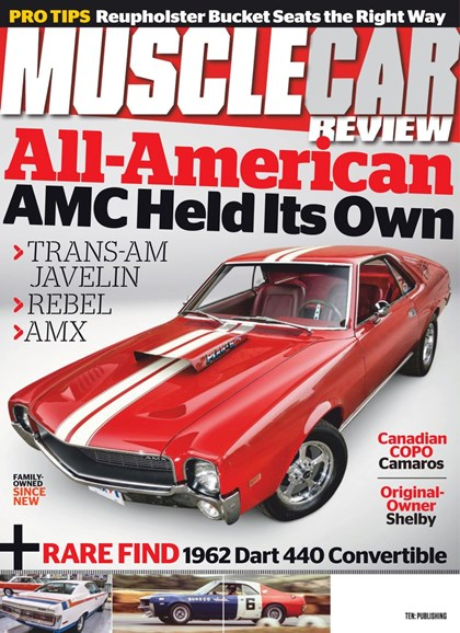 Muscle Car Review Cover - 8/1/2019