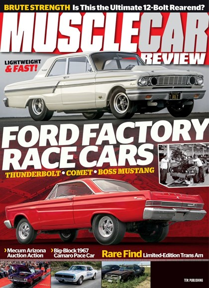 Muscle Car Review Cover - 7/1/2019