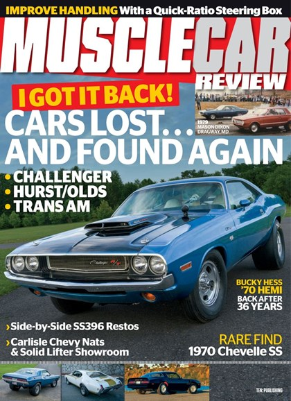Muscle Car Review Cover - 10/1/2019