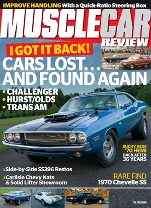 Muscle Car Review Magazine | 10/1/2019 Cover