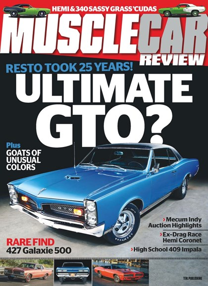 Muscle Car Review Cover - 9/1/2019