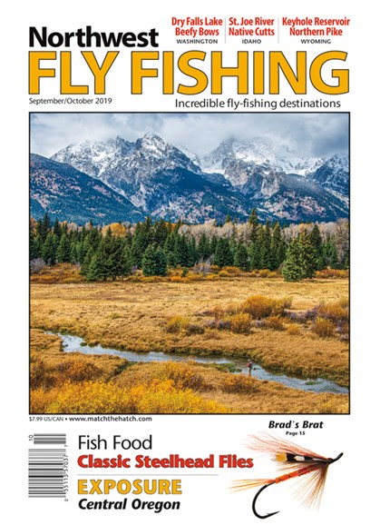 Northwest Fly Fishing Cover - 9/1/2019