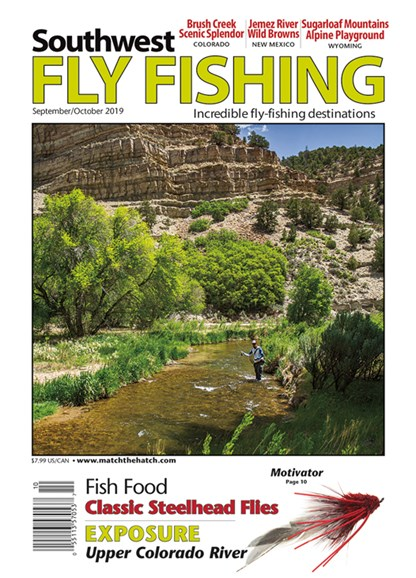 Southwest Fly Fishing Cover - 9/1/2019