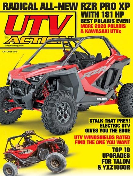 UTV Action Cover - 10/1/2019
