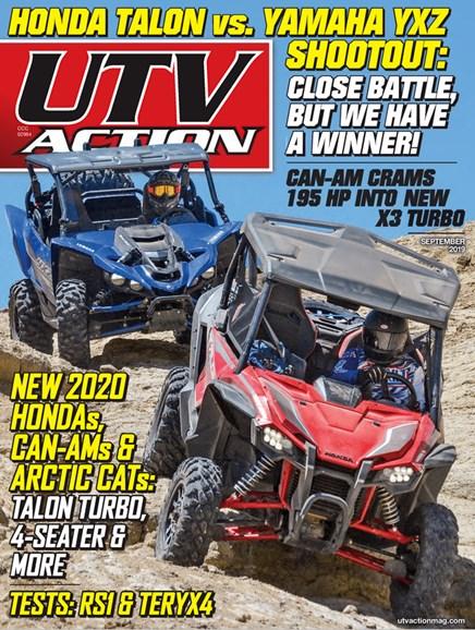 UTV Action Cover - 9/1/2019