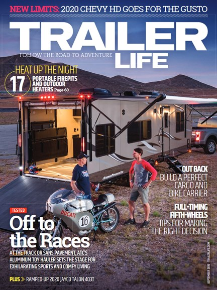 Trailer Life Cover - 9/1/2019