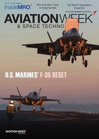 Aviation Week & Space Technology Magazine | 9/16/2019 Cover