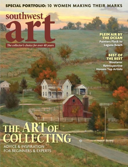 Southwest Art Cover - 10/1/2019