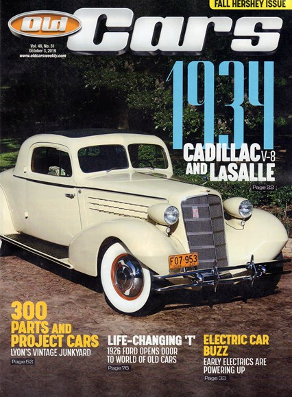 Old Cars Cover - 10/3/2019
