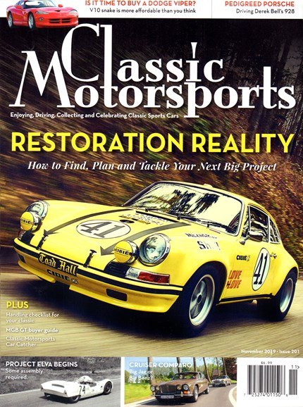 Classic Motorsports Cover - 11/1/2019