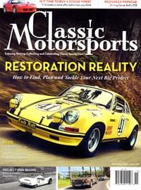 Classic Motorsports Magazine   11/2019 Cover
