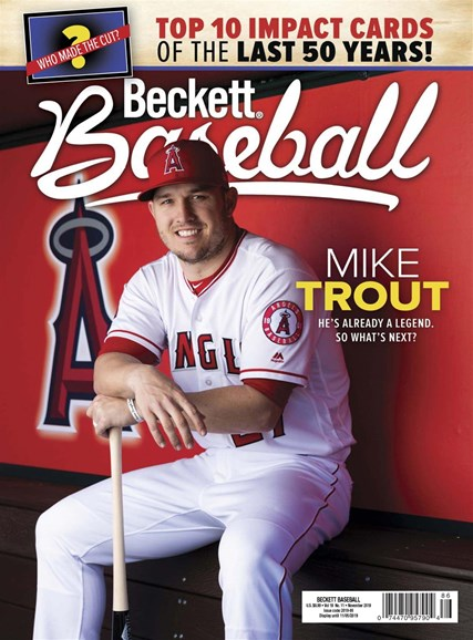Beckett Baseball Cover - 11/1/2019