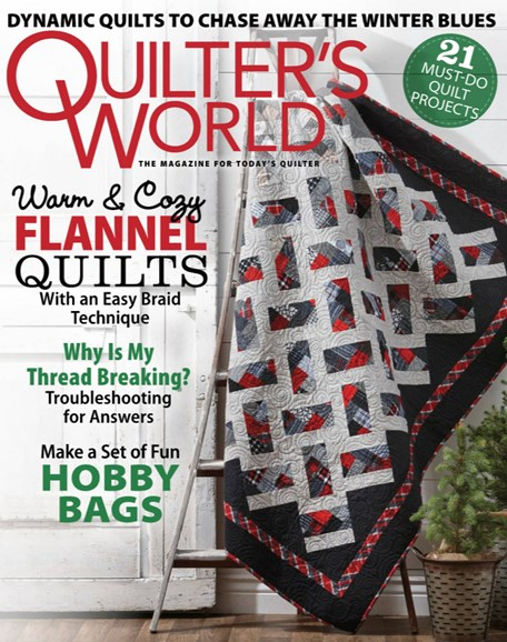 Quilter's World Cover - 12/1/2019