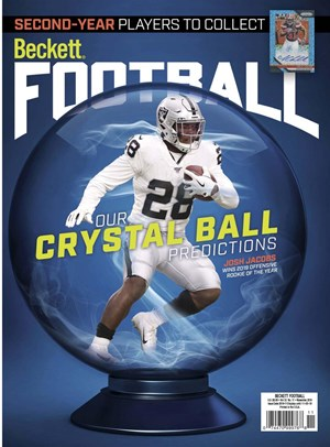 Beckett Football  Magazine | 11/2019 Cover