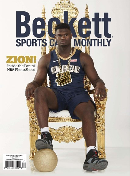 Beckett Sports Card Monthly Cover - 10/1/2019